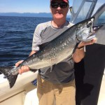 Watermark Charters Salmon Catch