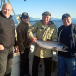 Vancouver Salmon Charter - happy customers