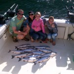Happy Customers with limit of pink salmon