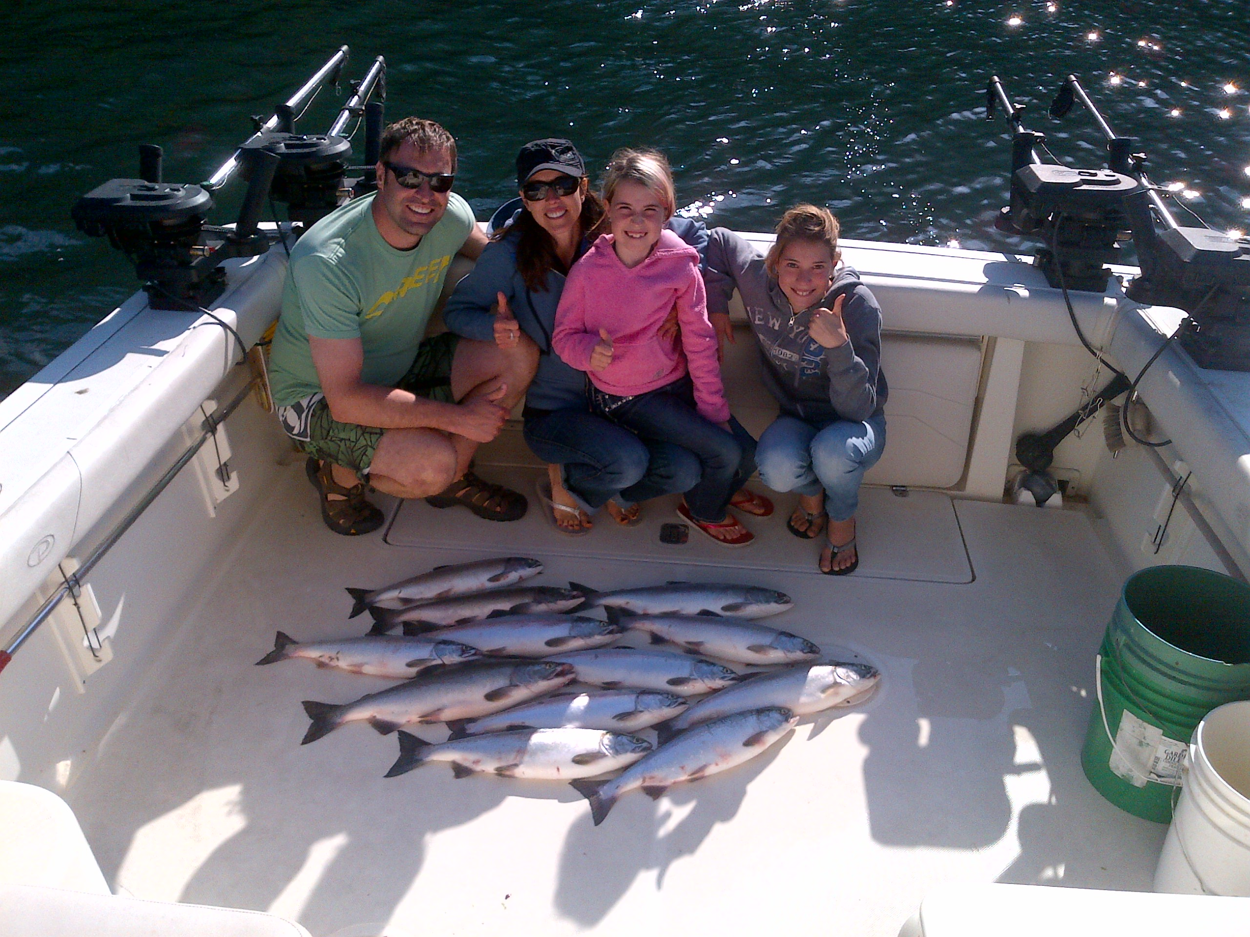 July 17 salmon fishing report for vancouver bc for Salmon fishing charters
