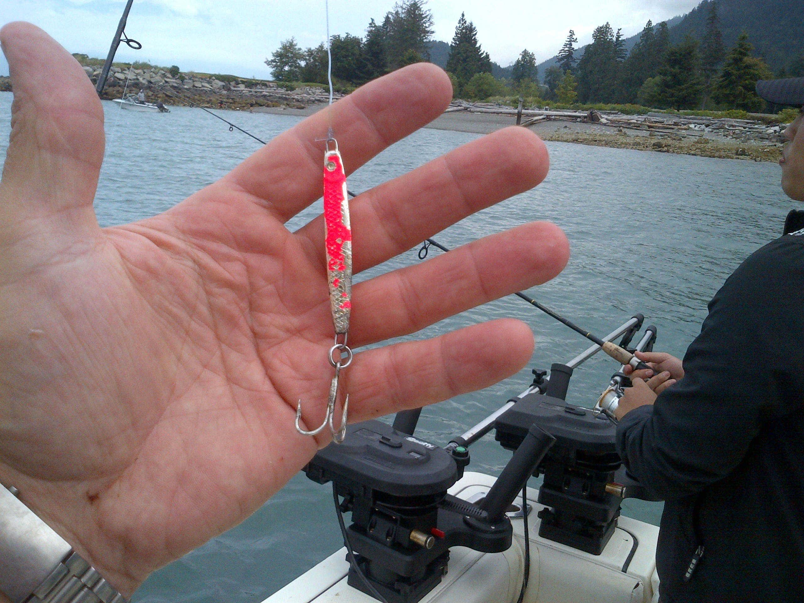 Fishing report vancouver salmon fishing charters with for Salmon fishing lures