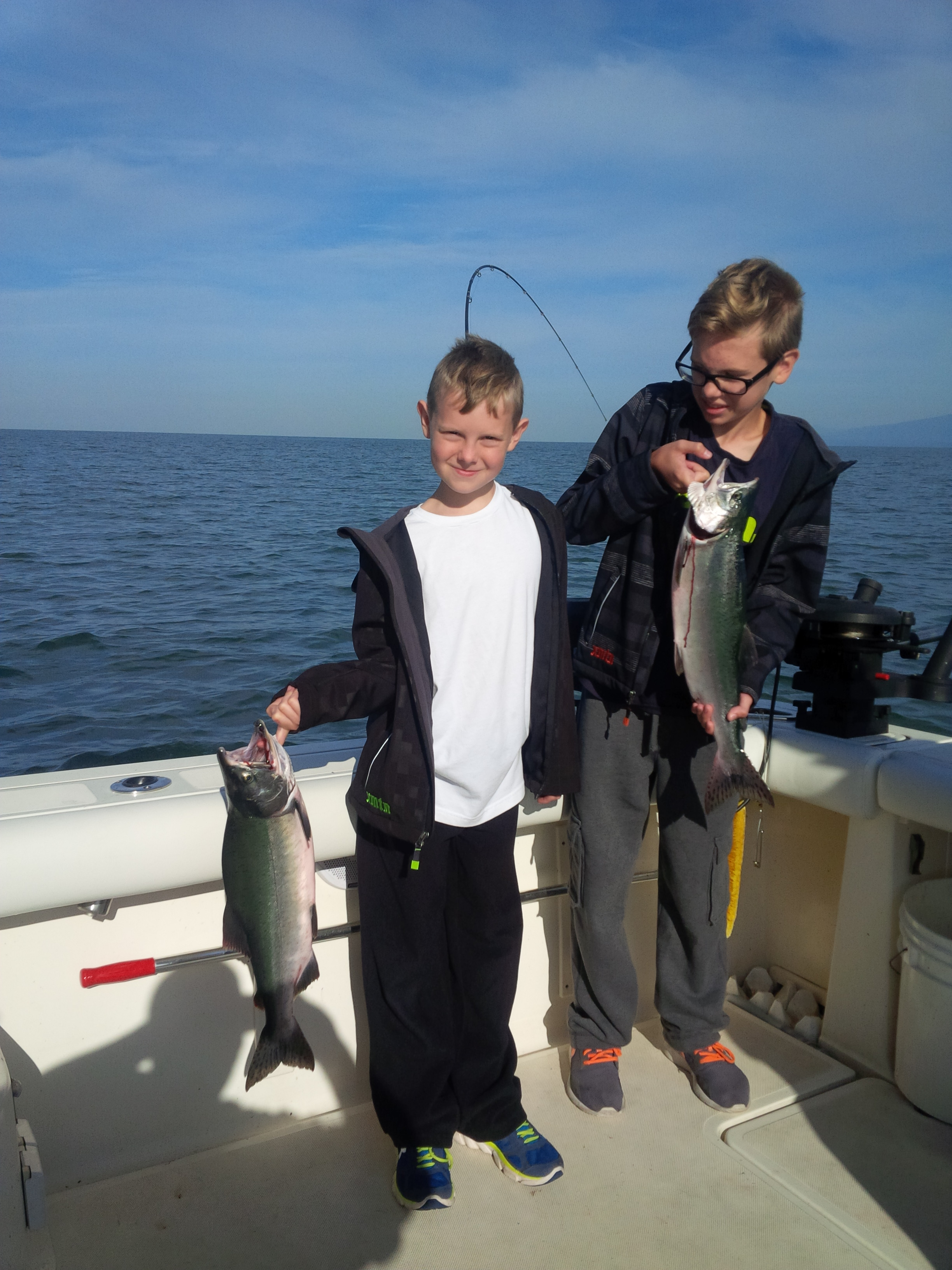 Salmon fishing report august 25 2015 vancouver salmon for Salmon fishing charters