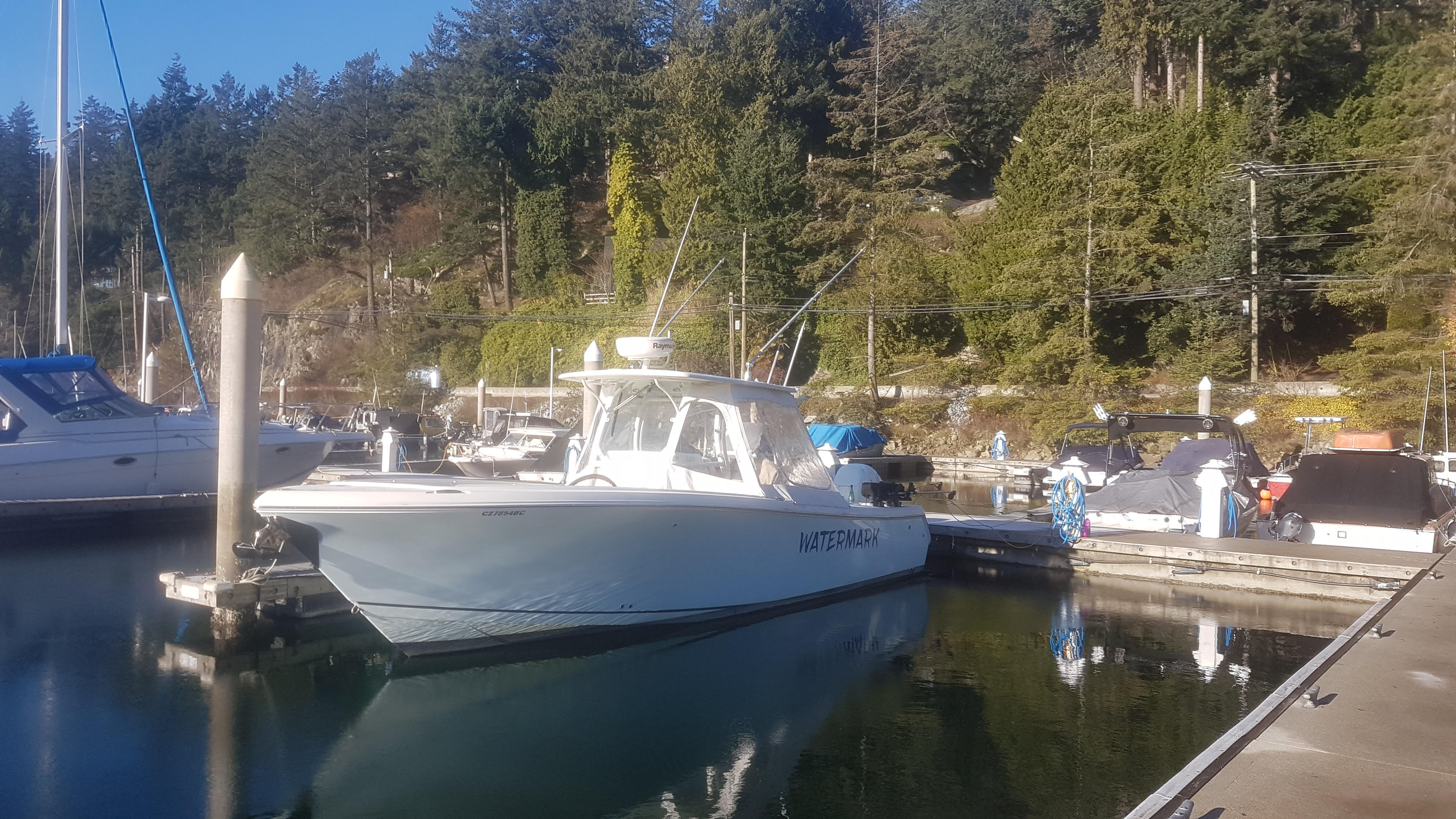 Watermark Fishing Vessel For Fishing Charters In BC